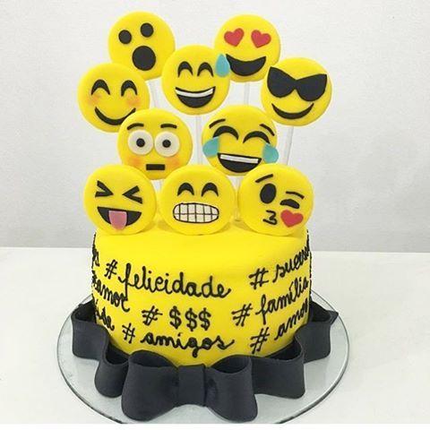 bolo emojis - Pesquisa Google