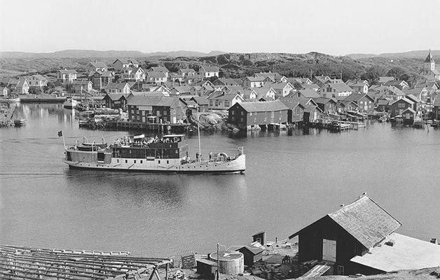 Mollösund, omkring 1954