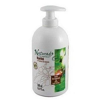 Mleczko Karite Bio - nawilżające mleczko do ciała Naturado jest szczególnie polecane dla skóry suchej i wrażliwej. Jego wyjątkowa formuła ( 98% pochodzenia naturalnego), bogata w biologiczne masło Shea i Olej z pestek winogron, zapobiega ryzyku wyschnięcia skóry, zapewnia natychmiastowe,długotrwałe nawilżenie. Lekkie, kremowe, szybko się wchłania nie natłuszcza.Wskazane dla dzieci,po goleniu,do demakijażu…