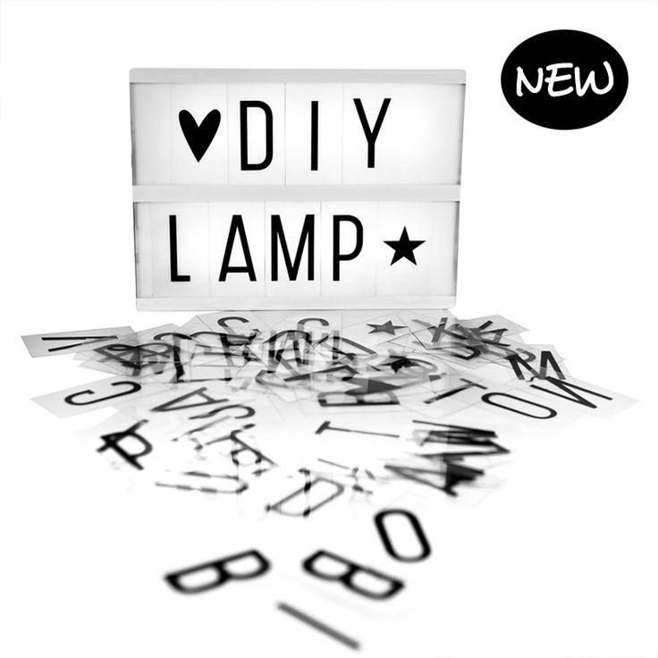 Lightbox A5 - A LITTLE LOVE COMPANY Te koop via https://www.livingdesign.be/nl/producten/detail/lightbox-a5-a-little-love-company