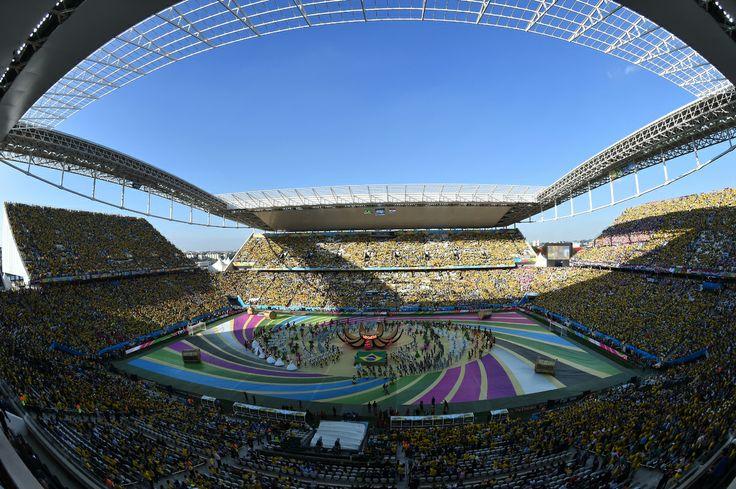 Mondial 2014: cérémonie d'ouverture
