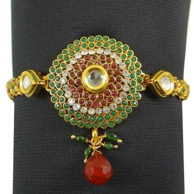 Wedding Bridal Upper Arm Bracelet Jewelry Traditional Ethnic Armlet Jewelry