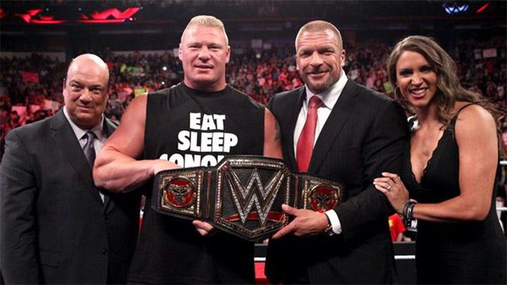 Brock Lesnar gets the new WWEWHC