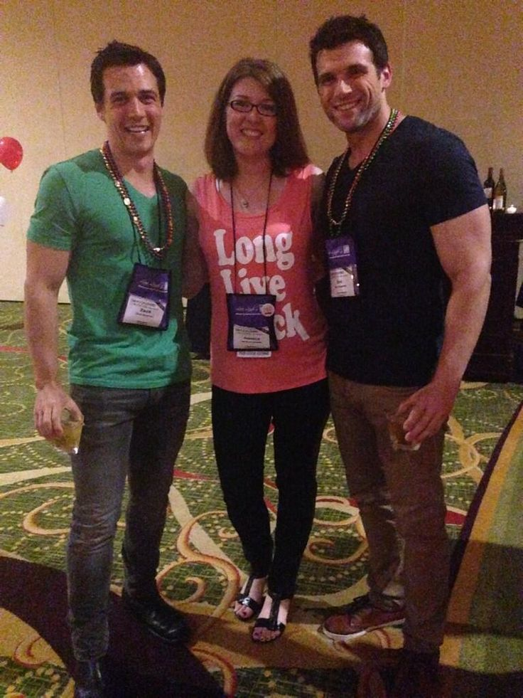 Hanging with @ZBostrom and @_EricCarpenter at the @Harlequin Books party