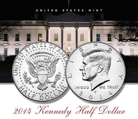 NO LONGER AVAILABLE 2014 Kennedy Half Dollar