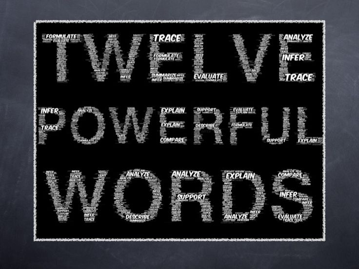 12-powerful-words-8329553 by Toby Price via Slideshare