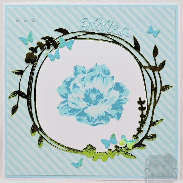 sinistä kukkaa...