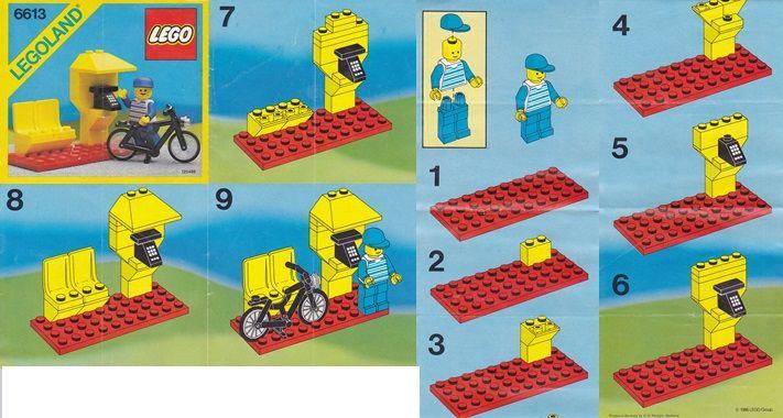 Legoland 6613 - Telefooncel