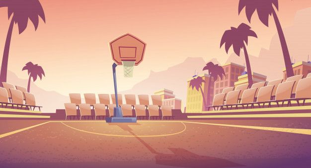 Download Street Basketball Court For Free In 2020 Street Basketball Basketball Drawings Basketball Court