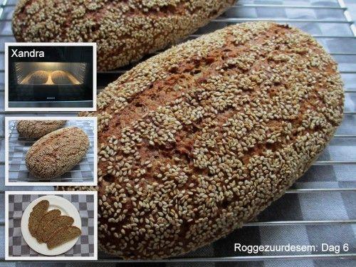 Heerlijk desem zadenbrood, recept, zelf maken, diy, brood, deeg, kneden, oven, bakken, ontbijt, lunch, tussendoortje, tarwe, rogge, lijnzaad, havervlokken
