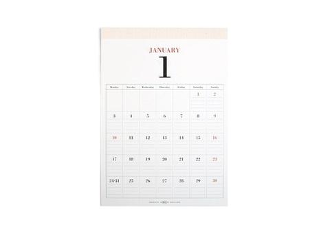 MUCU wall calendar ($35)