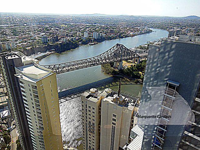 View from Meriton Apartments Brisbane...