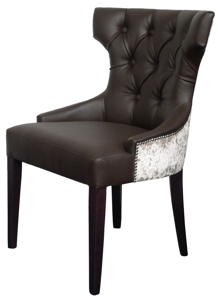 We love one of our recent customer orders. They chose the Adonis Dining Chair with a gorgeous fabric split of Agua Fabrics Ltd Paint Pot Brown and a back wrap of Covertex Senso Mink. Finished with stunning silver beading along the edge of the crushed velvet. Shop here: http://ow.ly/xbIZN