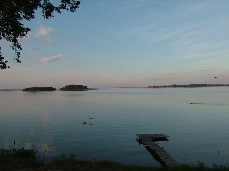 Śniardwy Lake, the Masurian Lake District (Pojezierze Mazurskie), Poland