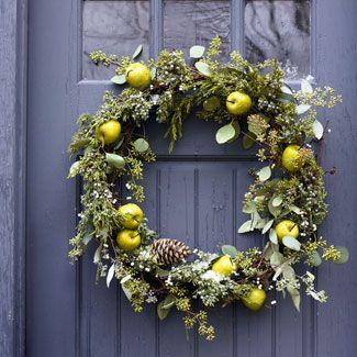 Eco-Friendly Christmas Wreath Ideas