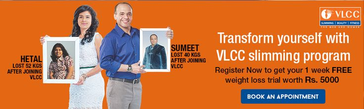Are you fat and are planning to reduce weight. VLCC Wellness offers slimming program that helps you to reduce weight fast. Its offer 1 week's free trial after joining. For more information on slimming program visit VLCC Wellness online now http://bit.ly/1FbPH1G
