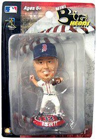 """Boston Red Sox Josh Beckett 3.5"""""""" Mini Big Head Bobblehead"""