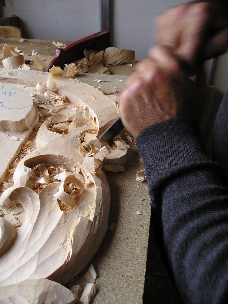 Sculpture sur bois - Modèle Bois Plaques en fonte - Fonderie LACOSTE - Dordogne - Création de plaque de cheminée - Réalisation à la demande