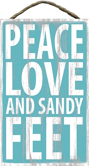 Country Marketplace - Peace Love and Sandy  Feet, $34.99 (http://www.countrymarketplaces.com/peace-love-and-sandy-feet-1/)