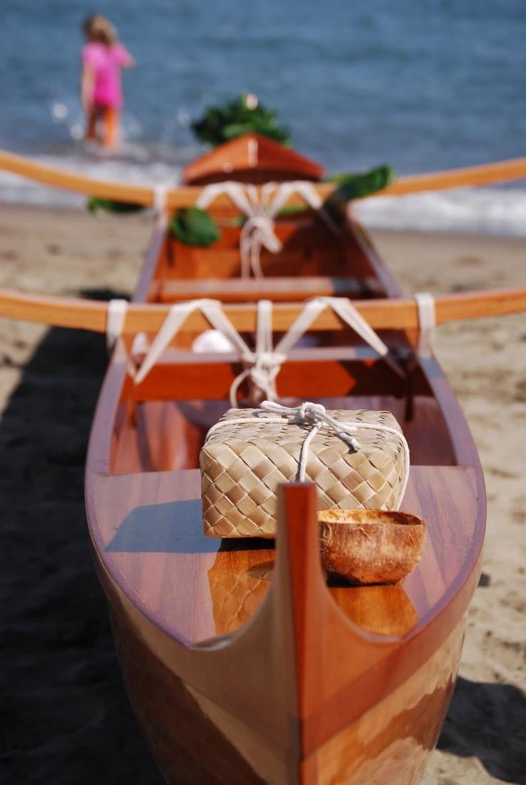 Shop to Sea: outrigger canoe