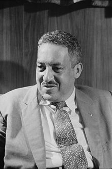 "Thurgood Marshall, first African-American Justice on the Supreme Court.  This was an enormous achievement in and of itself, but Marshall is one of my heroes because his law career involved advocating for the least of these.  He won the fabled case of Brown v. Topeka Board of Education (1954), which dismantled the ""separate but equal"" policy established by Plessy v. Ferguson in the late 1800's.  (I can't figure out how to italicize the court cases; that is bugging me.)  Micah sometimes tells…"