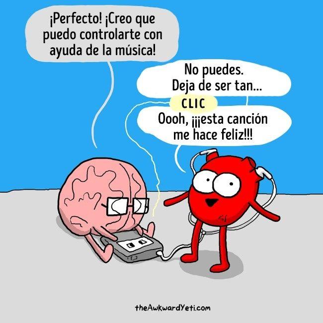 14 Cómics que reflejan la contradicción entre el corazón y el cerebro