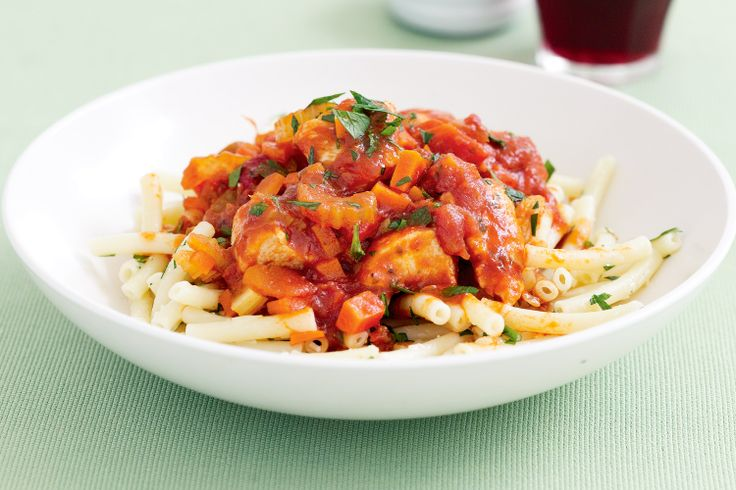 This hearty chicken dish is cooked with lots of vegies and fresh flavoursome herbs.