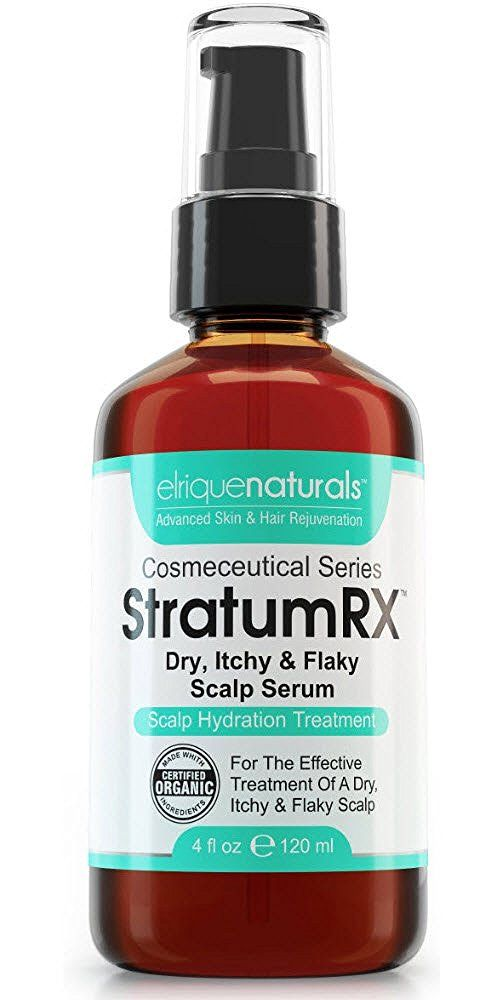 Dry Scalp Treatment, For Psoriasis, Eczema, Itchy And Flaky Scalp - StratumRX Psoriasis Treatment Serum And Itchy Scalp Treatment - Big 4 OZ Size! * You can find out more details at the link of the image.
