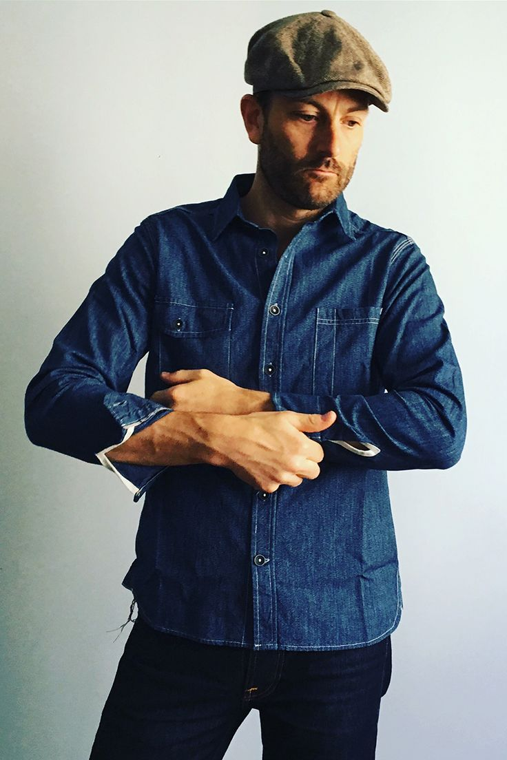 13a29464631 The Utility Shirt in Salt   Pepper Chambray from Taylor Stitch. Available  at The Revive Club.  taylorstitch  thereviveclub  mensshirts