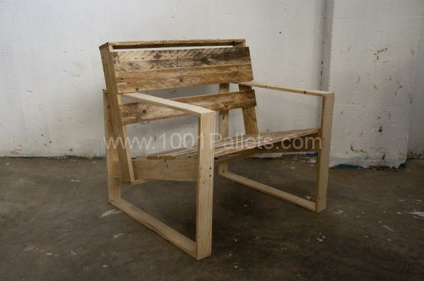 Sillon WaPPily 600x398 The P Series   Pallet classic furnitures in pallet furniture  with Pallets Lounge Furnitures Armchair