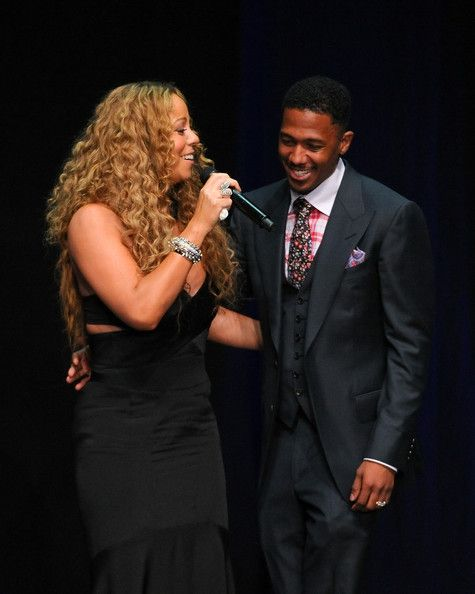 Mariah Carey Photos - Mariah Carey (L) and Nick Cannon attend the 12th Annual BMI Urban Awards at Saban Theatre on September 7, 2012 in Beverly Hills, California. - 12th Annual BMI Urban Awards - Show