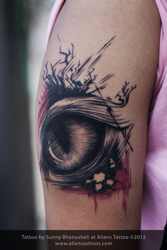 Abstract Animal Tattoo | Updates From B Tattoo Shop-eye