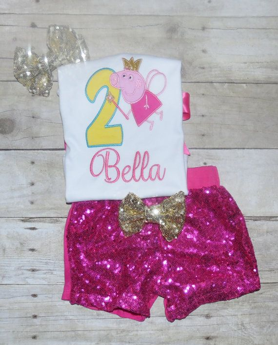 Hey, I found this really awesome Etsy listing at https://www.etsy.com/listing/480551393/peppa-pig-fairy-birthday-outfit-peppa