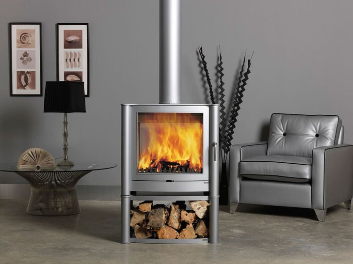 Stunning grey pellet stoves my someday home for Decorative rocket stove