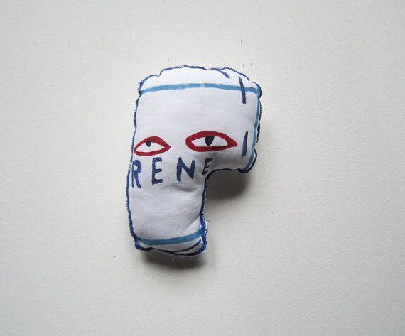 Basquiat  graffiti arte pop scultura bianco blu New York regalo compleanno laurea donna uomo regalo decorazione casa arte  maschera arte