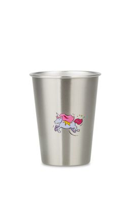 NEW LOOK UNICORN cup from ecococoon. 350ml illustrated stainless steel cup RRP $10.95