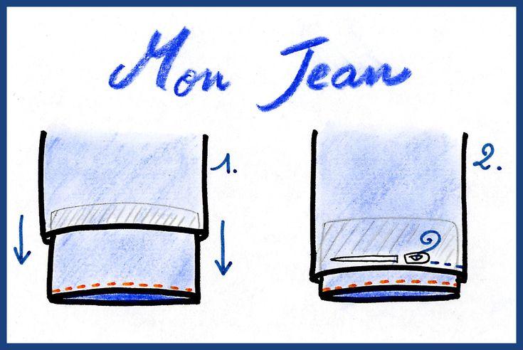 Comment faire un ourlet de pro sur mon jean fétiche ? Voici une précieuse astuce pour conserver votre ourlet d'origine. C'est tellement plus ...