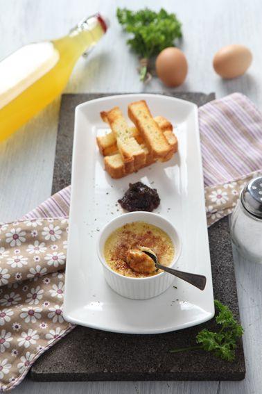 Foie Grass Creme Brulee #bakerzin #bakerzinjkt #soup