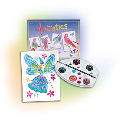 Aquarellum Junior Paint Set - Aquarellum Fairies
