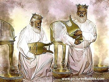 """What is heaven like? the 24 elders worship before Jesus throne constantly.: """"They lay their crowns before the throne and say:   """"You are worthy, our Lord and God,     to receive glory and honor and power, for you created all things,     and by your will they were created     and have their being."""" Revelation 4:11."""