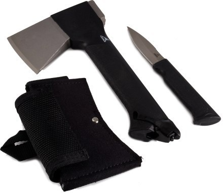 The perfect camping combo: Outdoor Gears, Knifes Combos, Camps Gears, Adventure Gears, Gators Combos, Gerber Hatchet, Gerber Gators, Combos Axes, With Kings