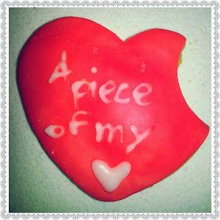 San Valentino BIscotti decorati con pasta di zucchero e glassa Valentine's day cookies