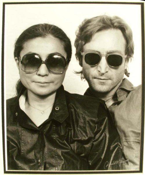Yoko Ono + John Lennon.