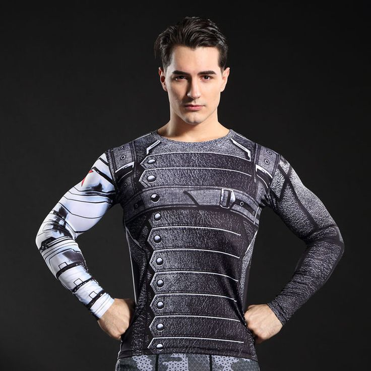 awesome Longsleeve Compressions Rashguard Backy Barnes Right Hand Version  -  This longsleeve looks like natural superhero gear! Fits perfectlyrash guard tee shirtis ideal for sport and daily usage. This shirt containslycra, which allows material stretch to the several sizes and comes back to normal size. Perfectly breathtissue, the color doesn't fade over time.  Check more at...
