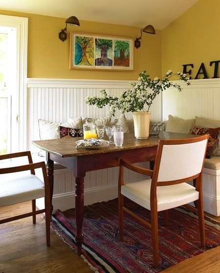 Painted Family Kitchen With Dining Nook: Best 25+ Corner Breakfast Nooks Ideas On Pinterest