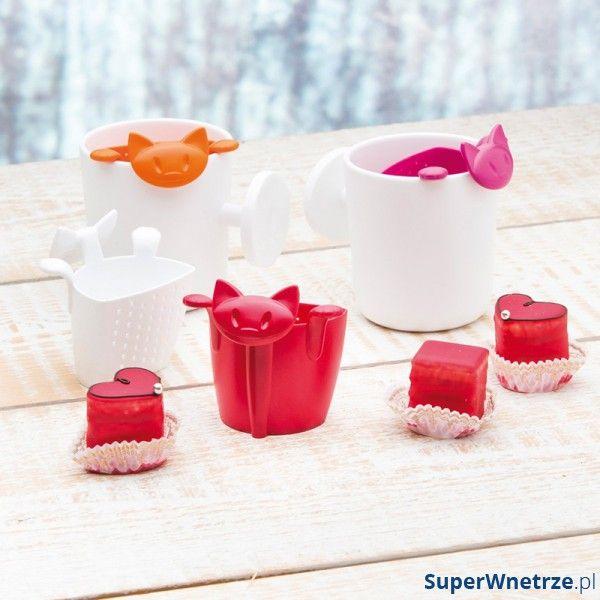 Zaparzaczka do herbaty w kształcie kotka marki Koziol. Nr katalogowy : KZ-3236525