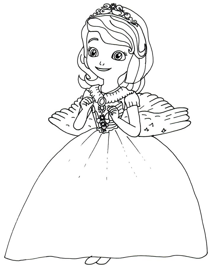 Disney Coloring Pages Princess Sofia : Best images about disney coloring pages on pinterest