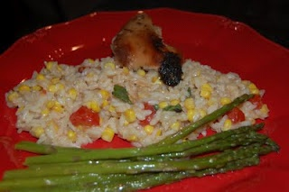 Risotto with Corn, Tomatoes, and Basil | food | Pinterest | Tomatoes ...
