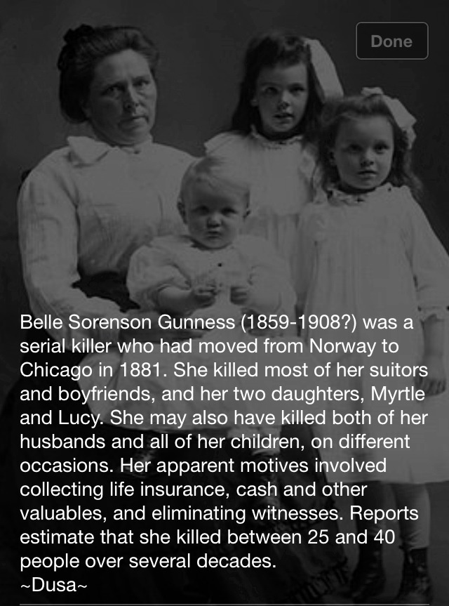 Female serial killer  Source- Bela Morte Facebook
