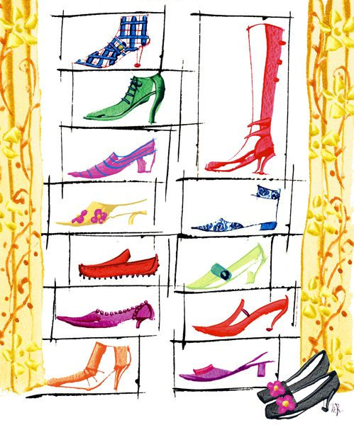 for modern-day cinderellas - illustration by masaki ryo